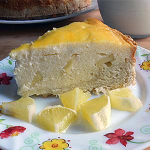 Рецепт домашнего чизкейка с творогом и яблоками