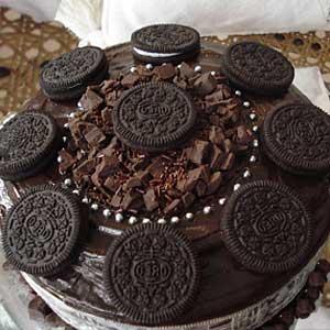 Без выпечки торт Ферреро Роше
