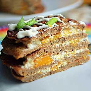 Пошаговый рецепт торта из печени и тыквы