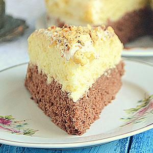 Нежный торт из заварного крема