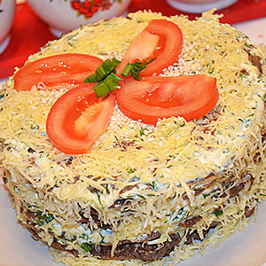 Печеночный торт пошагово с фото