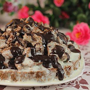 Торт Кучерявый хлопец рецепт с фото пошагово