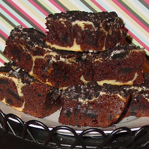 Рецепт торта Мраморный Брауни фото