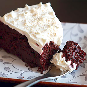 Шоколадно-кофейный торт со свеклой фото