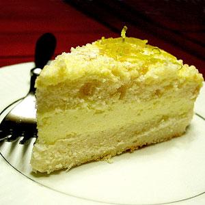 Рецепт Лимонного торта с курдом