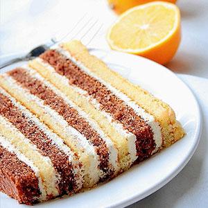 Бисквитный торт очень вкусный