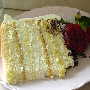 Бисквитный торт в разрезе фото