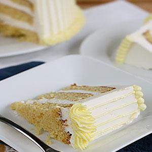Торт из готовых бисквитных коржей