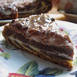 Торт Зебра в мультиварке рецепт фото