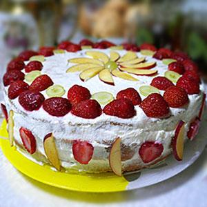 Торт Сметанник - фото