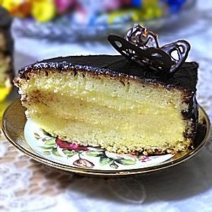 Торт Птичье молоко рецепт с манкой