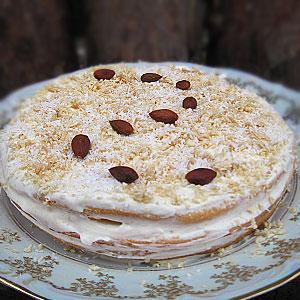 Миндальный торт рецепт