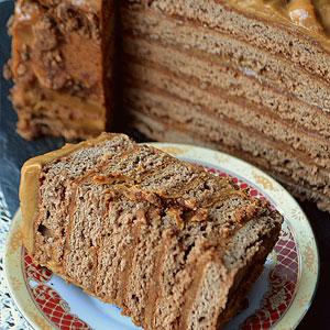 Медовик Карамельный рецепт торта с фото
