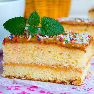 Несложный бисквитный торт рецепт с фото пошагово