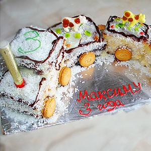 Печем и украшаем торт на день рождения мальчика