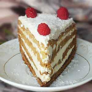 Постный рецепт торта в домашних условиях на варенье