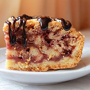 Песочный торт с вареньем Экономный рецепт с фото