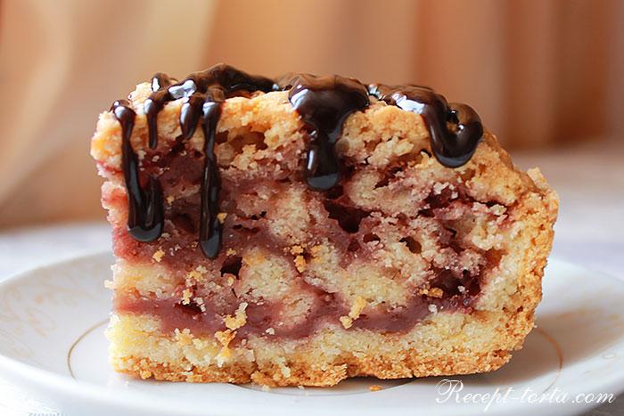Экономный торт с вареньем  - рецепт