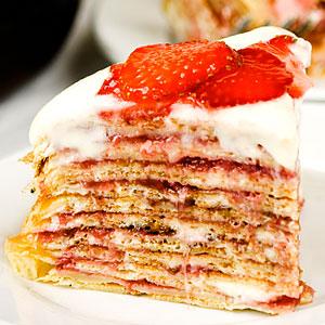 Рецепты блинного торта со сметанным кремом