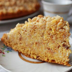 Простой рецепт торта Манник на сметане - фото