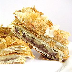 Постный торт Наполеон - фото