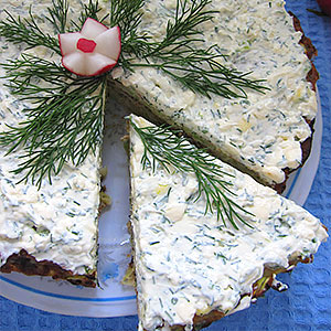 Кабачковый торт - рецепт с фото пошагово