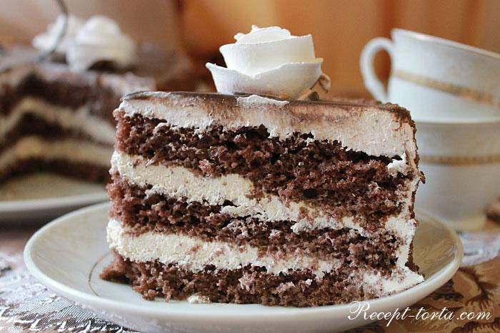 Делаем шоколадный торт по простому рецепту