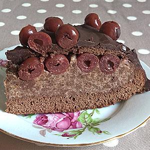 Торт Пьяная вишня - фото