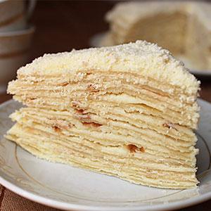 Торт Наполеон на сковороде рецепт с фото