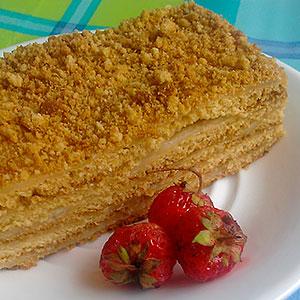 Торт Рыжик - классический рецепт