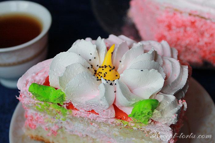 Сливочный крем для украшения торта - фото