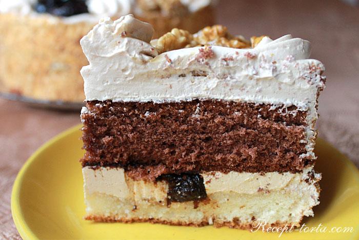 Итоговое фото торта Королевский