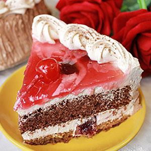Классический рецепт торта Пьяная вишня