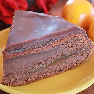Торт Захер по  приготовленный классическому рецепту - фото