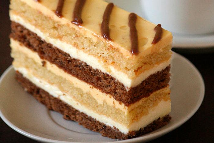 Торт День и ночь по простому рецепту