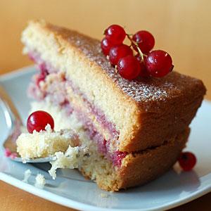 Рецепт торта с ягодами и заварным кремом