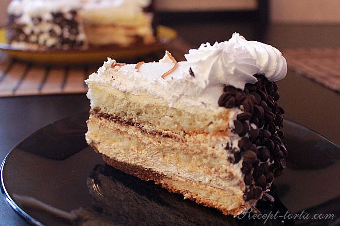 Творожно-сметанный торт  - итоговое фото