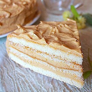 Рецепт торта Сливочные волны