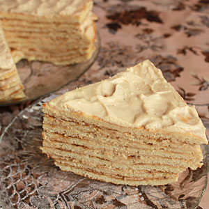 Сметанник на сковороде - пошаговый рецепт торта