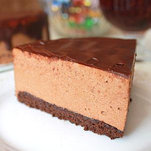 Торт Птичье молоко - шоколадный вариант