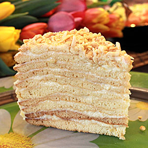 Торт Рыжик - рецепт в домашних условиях