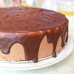 Как украсить торт Птичье молоко с MOLD DÉCOR