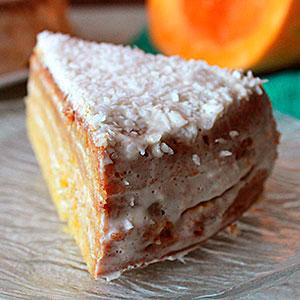 Рецепт тыквенного торта с фото