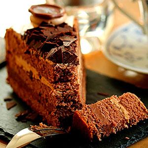 Шоколадно-кофейный торт - фото