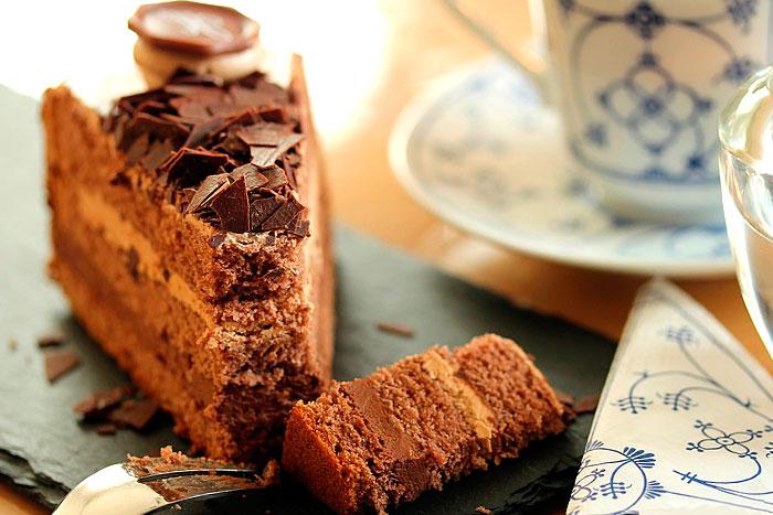 Итоговое фото кофейного торта по рецепту сайта
