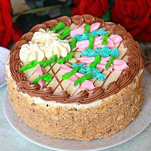 Киевский торт по советскому рецепту
