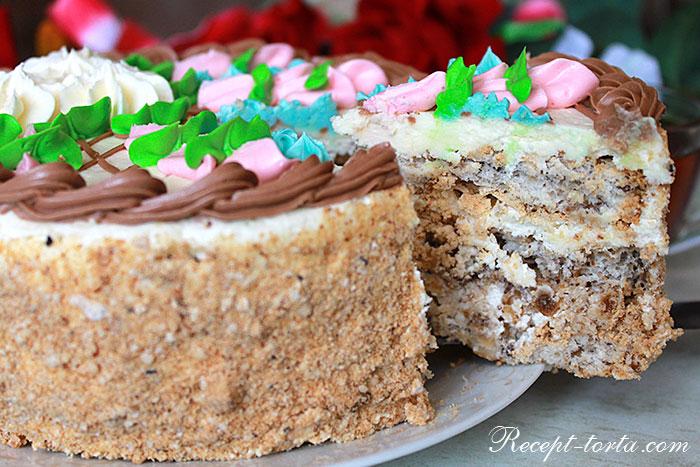 Классический Киевский торт по советскому рецепту