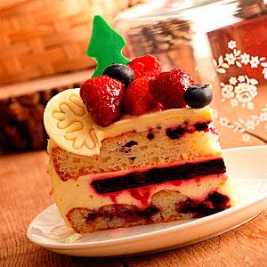 Отавшийся кусочек торта