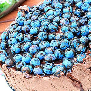Шоколадный американский чизкейк - фото