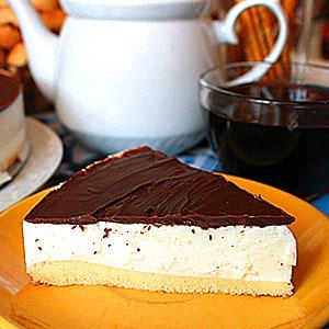 Сметанный торт Птичье молоко